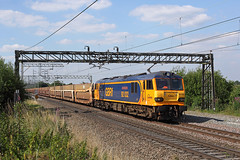 92032 Weaver Junction 22nd July 2014 (John Eyres) Tags: junction weaver dagenham garston gbrf 92032