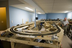 Ruffet Central (Stephen Gardiner) Tags: ontario pentax trains 187 railways barrie modelrailroad 2014 hoscale 1645 k20d ruffetcentral