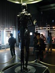 Terminator Exhibition: T-X (Dick Thomas Johnson) Tags: japan museum movie tokyo robot science   odaiba daiba cyborg terminator sciencemuseum humanoid    miraikan  terminator3   nationalmuseumofemergingscienceandinnovation   terminatorexhibition t  can 3