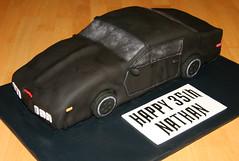 K.I.T.T. Knight Rider (Kiss My Buttercream) Tags: car cake knight rider