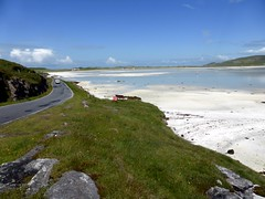 Outer Hebrides - Barra Airport (bellrockman2011) Tags: islands scenery palmtrees beaches barra westernisles ferries airfield outerhebrides castlebay comptonmackenzie eoligarry whiskygalore