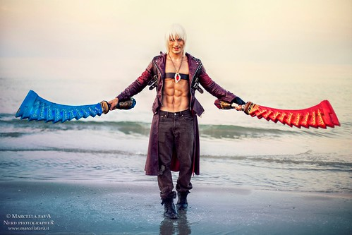 Dante Devil May Cry 3 Cosplay By Leon Chiro A Photo On