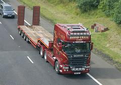 David Craig & Sons X800DCT Scania R620 6 X 2 on M77 Fenwick Moor. (Malcie Man) Tags: tractor david transport east craig moor kilmarnock scania fenwick sons a77 ayrshire m77 r620