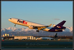 N584FE FedEx - Federal Express (Bob Garrard) Tags: express douglas fedex anc federal md11 mcdonnell panc n584fe