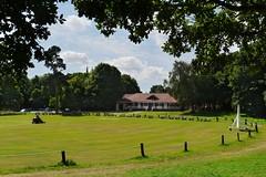 Edwinstowe, Nottinghamshire (Oxfordshire Churches) Tags: uk england unitedkingdom cricket panasonic sherwoodforest robinhood forests outlaws nottinghamshire edwinstowe mft maidmarion villagecricket cricketclubs johnward cricketpavilions micro43 microfourthirds lumixgh3 robinhoodsvillage