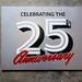 Adobe Originals 25th Anniversary Signs