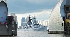 ITS Luigi Durand de la Penne D560 (7) @ Thames Barrier 13-08-14 (AJBC_1) Tags: riverthames london thamesbarrier italiannavy itsluigiduranddelapenne destroyer d560 navy nato warship ©ajc dlrblog ship boat vessel military england unitedkingdom uk navalvessel ©ajc ajbc1