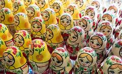 St. Petersburg - Russian Dolls (Ian Rylance) Tags: russiannestingdolls lotsofdolls multipalrussiandolls matryoshkarussiannestingdolls