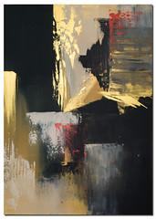 Wandbild abstrakt GOLD RUSH (Wandbilder Antoniya Slavova Art) Tags: gold rush wandbild abstrakt slavova