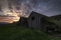 Sel, Skaftafell National Park, Iceland HDR (Brandon Kopp) Tags: travel sunset vacation iceland nationalpark nikon east tokina sel hdr turf skaftafell d300 photomatix turfhouse 1116mm brandonmkopp