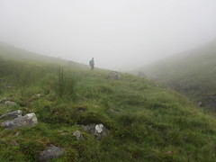 Up into the cloud of Gleann Cuirnean