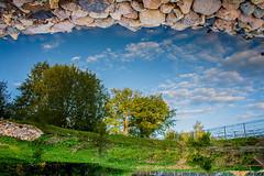 *** (Ivan Gorshenin) Tags: trees sky cloud grass stone mirror colored obninsk belkino