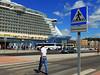 Crossing the seas (Orzaez212) Tags: blue summer ship crossing transport sunny olympus caminos paths seaport mediterráneo málaga señal crucero oasisoftheseas europeonflickr