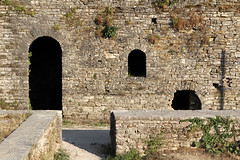 structures  (cyberjani) Tags: albania fortress balkan gjirokaster