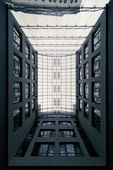 (maxelmann) Tags: light architecture germany dark saxony hell leipzig le sachsen architektur passage dunkel düster maxelmann