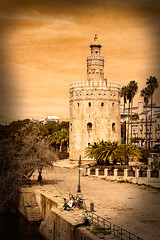 Torre del Oro (www.ignaciolinares.com) Tags: park old city travel sky urban building tower art heritage history texture textura tourism monument beautiful architecture outdoors gold town sevilla spain ancient europe european cityscape torre exterior view place symbol artistic minaret famous gothic culture landmark palace tourist seville andalucia historic spanish moorish romantic historical tradition andalusia attraction oro palacio texturized texturizado ignaciolinares fishingtexturatexturizadotexturetexturizedignaciolinaresancientandaluciaandalusiaarchitectureartartisticattractionbeautifulbluebuildingcitycityscapecultureeuropeeuropeanexteriorfamousgothicheritagehistorichistoricalhistorylandm