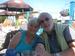 Bubbe & Zaide Golden Anniversary coffee (Sim-tov) Tags: vacation portrait holiday fun golden bay bc anniversary celebration cox tofino aug bubbe 2014 zaide