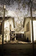 (megallypuff) Tags: old abandoned eerie creepy spooky oldhouse abandonedhouse shack deserted rundown abandonedbuildings megantedrowphotography