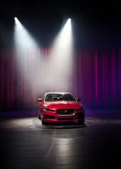 world london september kaiserchiefs jaguar launch landrover earlscourt reveal 2014 xe johnhannah elizadoolittle leowood emelisande maxmillner steffenwick