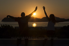 Dancing with the Sun ... (HMeYe phOtO) Tags: sunset croatia dubrovnik 24120mmf4 nikond