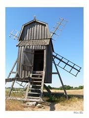 alte Mühle / old windmill @ Öland (=RetroTwin=) Tags: 2005 travel mill windmill digital lumix fz20 mühle tour sweden alt schweden panasonic sverige öland alte windmühle gettlinge lostillusion75 retrotwin skandinavientour