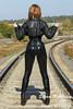 IMG_5775 (Elena Rubberry) Tags: fetish model rubber latex catsuit balletheels модель латекс фетиш rubberry lenarubberry катсьют