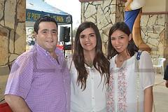0910. Héctor Pérez, Carina Zubiaga y Anna Zúñiga.