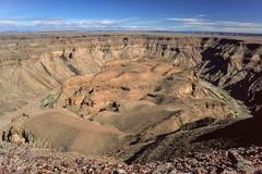 Fish River Canyon (trekmaniac-is-back) Tags: 1998 diapo namibie