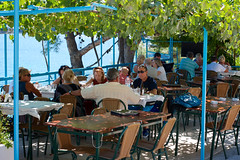 England & Kefalonia, Greece Vacation 2014 (Flickr) #88 (MichelinStar) Tags: blue cambridge sea vacation portrait cats holiday mountains beach 35mm landscape island boat suffolk nikon clare view greece kefalonia sami assos fiscardo myrtos agiaefimia d7000