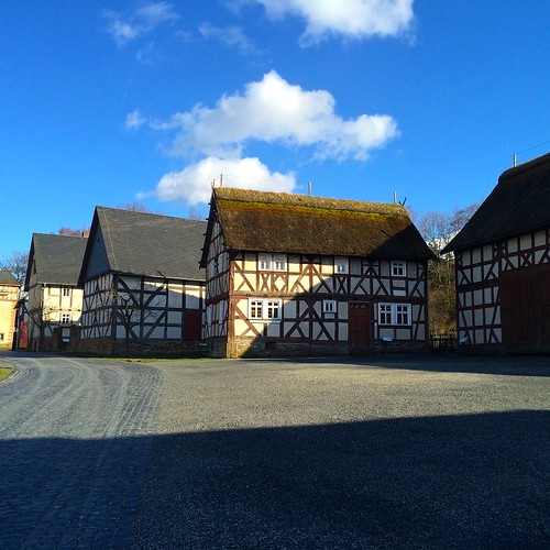 Hessenpark Open-Air Museum, Hesse, Germany, April 2015