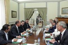Reunião com a Associação Nacional de Municipios Portugueses