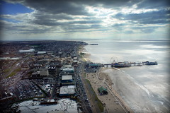 Blackpool (andrewlee1967) Tags: blackpool tower panorama andrewlee1967 sonynex3 lancashire seaside beach sea roads traffic holiday centralpier southpier landscape bigwheel andrewlee