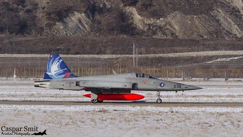 Swiss F-5E Tiger - J-3038
