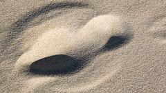 Blurred trace in the sand 3 (Walter Johannesen) Tags: thyborøn jylland jutland denmark danmark sand spor skygger strand track shadows beach