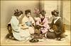 Card Game (ookami_dou) Tags: vintage japan geisha 芸者 game cards