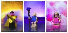 [DC] The Second Spectrum (  Jonathan  ) Tags: lego dc comics sinestro indigo1 star sapphire fear compassion love emotional spectrum lanterns superheroes korugar nok custom minifigures figbarf purist