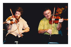 Ashley MacIsaac and Howie MacDonald