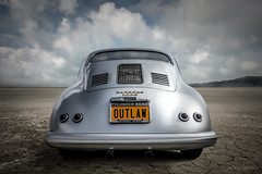 Into the Badlands (DL_) Tags: vintage classic german porsche 356 silver sportscar automotive transportation panasoniclumixdmcg3