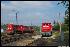 DB Cargo Polska 6444, Jankowice 07-09-2016 (Henk Zwoferink) Tags: jankowice śląskie polen pl db cargo dbc polska rybnik henk zwoferink mak 6444 6400 nsw ns de6400