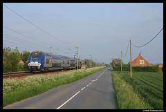 SNCF 619, Bailleul 30-4-2014 (Henk Zwoferink) Tags: frankrijk lille henk sncf bailleul bombardier dubbeldekker zwoferink