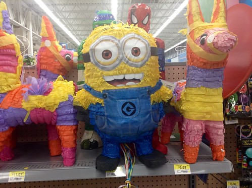 Minion Pinatas From Despicable Me 2 Party Goids Dept At Walmart