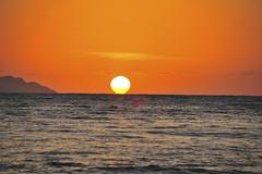 Lightbulb (Omar E. Martinez) Tags: ocean sunset sun sol beach water lightbulb puerto island atardecer nikon playa rico 700 rincon bombilla