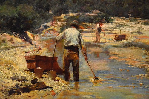 Walter Withers, Seeking for Gold (1893) by JC Merriman, on Flickr