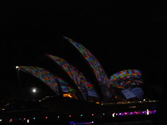 Vivid Sydney (ANNE LOTTE) Tags: lights sydney australia australien harbourbridge beleuchtung lichter vividsydney