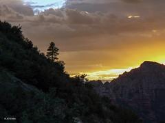 Almost after sunset (nousku) Tags: sunset arizona sedona roadtrip desertlandscape lumixflorilege