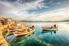 Ayvalık, Turkey (Nejdet Duzen) Tags: trip travel sea holiday turkey boat fishing cloudy türkiye deniz sandal tatil turkei balıkesir seyahat ayvalık balıkçılık bulutlu