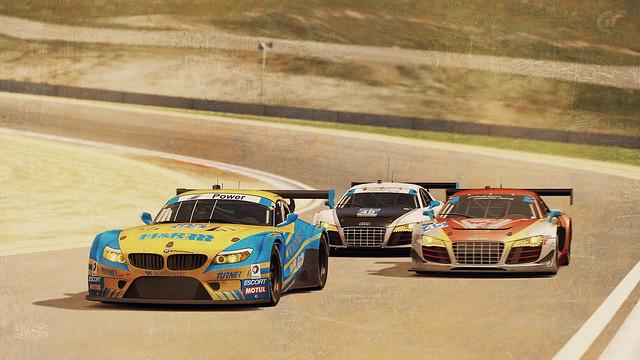 racecar bmw z4 lagunaseca turnermotorsports mazdaracewaylagunaseca markuspalttala danecameron bmwz4gt3 granturismo6 tudorunitedsportscarchampionship