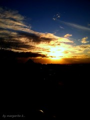 Sunrise...mobile photo Newport (Margarita K...) Tags: sky sun wales clouds sunrise newport