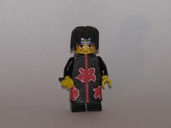 Lego Naruto: Itachi Uchiha (AJV777) Tags: anime lego manga minifig minifigs custom naruto minifigure akatsuki itachi uchihaitachi narutoshippuden