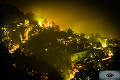 After Midnight (madhab barman) Tags: light darkness midnight sikkim hillstation aftermidnight gantok mgmarg incredibleindia visitindia nightatsikkim